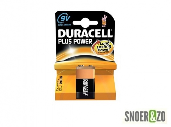 Duracell plus power batterij type 9 V (blok)