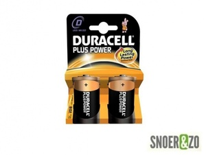 Duracell plus power batterij type D (mono)